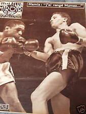 """LE MIROIR DES SPORTS 1956 N° 568 RAY """"SUGAR"""" ROBINSON"""