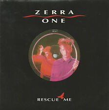 "ZERRA ONE - RESCUE ME - RARE 7"" 45 VINYL RECORD - 1985"