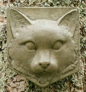 Kitty Cat Plaque, Cement/Concrete Decor For Indoors And Outdoors