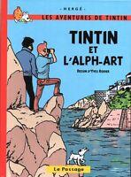 Tintin et l'Alph-Art + 2 autres histoires. RODIER et Hergé. 2018. PASTICHE