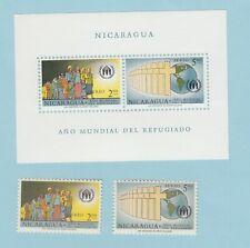 NICARAGUA C452 - C453a mnh set