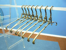 Mid-Century Brass Clothes hangers, 1950s, Set of 8