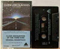 Close Encounters of the Third Kind Original Soundtrack (Cassette, 1977, Arista)