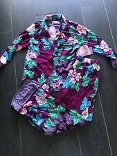 PETER ALEXANDER Pj Floral Regal Wallpaper Shirt Top Size S RRP$79.95
