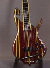 Mini Guitar PRIMUS LES CLAYPOOL Rainbow Bass GIFT Memorabilia FREE STAND ART