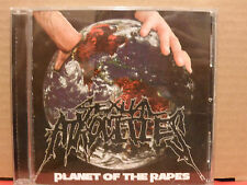 Sexual Atrocities - Planet of the Rapes CD VG+ Condition RARE Metal