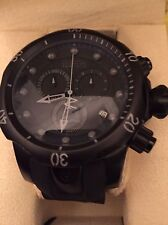 "Invicta 6051 Reserve ""Combat"" All Black Venom Chronograph Watch"