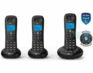 BT 3570 Digital Cordless Phone With Answer Machine and Call Blocker-Trio Pack