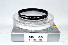 Quantaray 55 mm NEW Cross Screen Screw-In Filter with Case/Box Japan (N-69)
