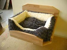 Katzenwandbett Wandhalterung mit Kissen Katzenmöbel (siehe Beschreibung unten)