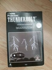 Gemmy Projection Thunderbolt LED Light Show Indoor Or Outdoor Halloween White