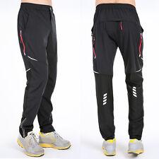 Men's Athletics Sporty Cycling Biker Sweatpants Elastic Jogger Pants Quick Dry