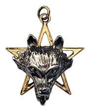 "CNO7 Children Of The Night NIGHT OF THE WOLF Pendant + 18"" chain"
