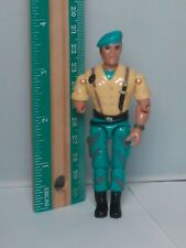 1986 Lanard The Corps Hammer Action Figure Green Beret Yellow Uniform Low Price