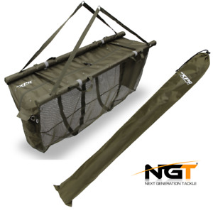 NGT XPR FLOATING WEIGH SLING CARP FISHING RETAINER WITH CARRY CASE SYSTEM