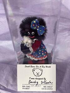 World of Miniature Bears-Prissy, By Becky Wheeler