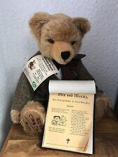 Hermann Teddy Bär Wilhelm Busch 41 cm. Limitiert. Unbespielt.