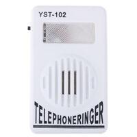 95dB Extra-Loud Telephone Phone Ringer Amplifier Landline Ringer Sound Ringt_EO
