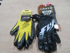Pair Of Kinetic Fly Racing Riding Gloves And A Pair Of Technician Gloves Sm A5