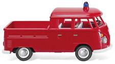 Pompier VW T1 cabine Double 1963 Wiking 086128 Échelle H0 1 87