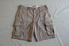 NWT men's Hollister by Abercrombie classic cargo shorts Size 31, 32, 33 khaki