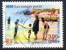 STAMP / TIMBRE FRANCE OBLITERE N° 3352  / LES CONGES PAYES 1936