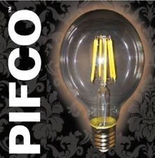 PIFCO G80 6WATT E27 ES LED RUSTIKA LARGE GLOBE VINTAGE 600LM ENERGY SAVING BULBS