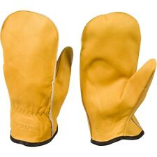 CHOPPER MITTENS, UNLINED TOP GRAIN COWHIDE LEATHER WOMENS AND TEENS TO MENS LARG