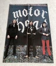 MOTORHEAD 1979 Lemmy Poster Music Magazine Vintage 1970s
