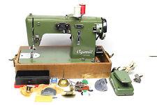 Antique Vintage Vigorelli Italy USA Portable Sewing Machine 507919 Original Case