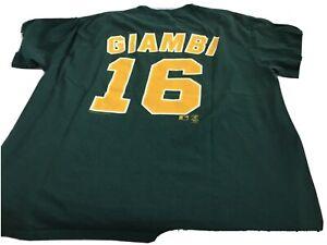 Oakland Athletics .  T Shirt  MLB  Nr 16 – Giambi XXL