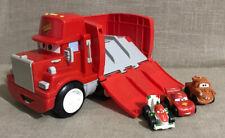 Lot Of  Fisher-Price Disney Pixar Wheelies Cars Mack Hauler Lightning Mcqueen
