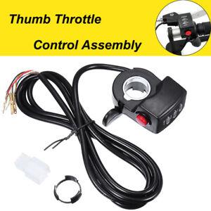 36V/48V Speed Control LED Twist Thumb Throttle Assembly For E-bike Electric Bike