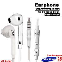 Casque Écouteurs mains-libres pour Samsung Galaxy S6 S7 Edge Note 4 3 S5