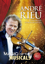 ANDRE RIEU MAGIC OF THE MUSICALS DVD NEW R2
