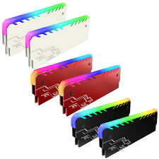 RGB Light Memory RAM Cooler Heat Sink Cooling Vest Radiator for DIY PC Mystic