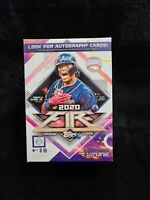 2020 Topps MLB Fire Baseball Trading Card Blaster Box