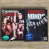 Criminal Minds Season 13 & 14 (DVD,10-Disc,Region 1) Fast shipping US Seller