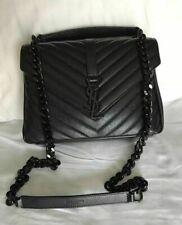 YSL YVES Saint Laurent 100% Authentic College Monogram Medium Bag