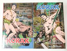 Korak Son of Tarzan Vol. 1 & 2 Hardcover NEW Dark Horse Graphic Novel Comic Book