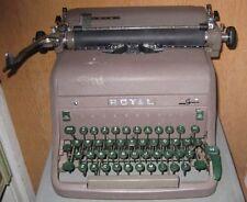 Steampunk Royal Typewriter Green Keys 40-50's