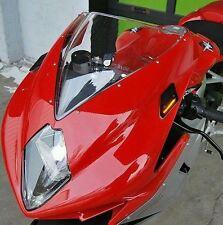 MV Agusta F3/F4 Mirror Block Off Turn Signals - New Rage Cycles NRC 100%