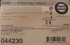 44230 - HID Fargo YMCKO 250 Print Colour Ribbon - Suit DTC400 / DTC400e