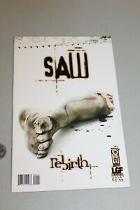 SAW Rebirth #1 2005 1st Appearance of Jigsaw Lions Gate Film IDW Spiral Comic NM