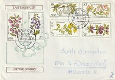 1981 East Germany cover sent from Oberhof to Dusseldorf
