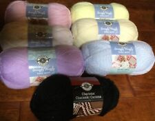 Lot of 7 New Skeins ~ Loops & Threads Snuggly Wuggly Yarn & Charisma