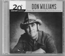 "DON WILLIAMS, CD ""20th CENTURY MASTERS, THE MILLENNIUM COLLECTION"" NEW SEALED"