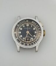 1930's VINTAGE WELSBRO ONE BUTTON CHRONOGRAPH WATCH – A MICHEL 1710 - RARE