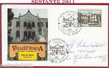 ITALIA FDC FILAGRANO VILLE D'ITALIA VILLA DE MERSI VILLAZZANO TN 1985 Y910