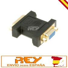 Adaptador DVI-I(24+5) Hembra a VGA Hembra v237